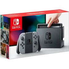 Nintendo Switch Konsole grau NEU + OVP
