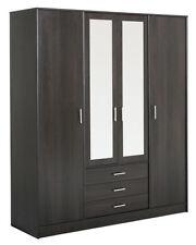 Kleiderschränke aus MDF -/Spanplatten in aktuellem Design mit 4 Türen