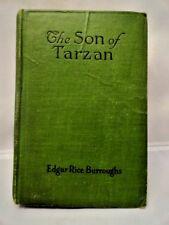 Edgar Rice Burroughs The Son of Tarzan A L Burt 1918 McClurg Outdoor & Nature