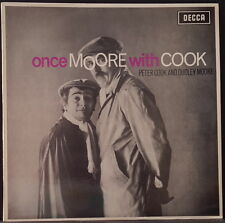 PETER COOK & DUDLEY MOORE - ONCE MOORE WITH COOK ORIG OZ 1ST PRESS DECCA LKA4785