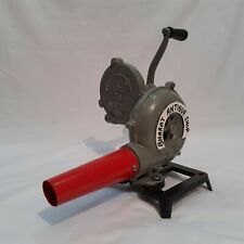 Fan Forge Furnace With Hand Blower Pedal Type Handle Collectible Blacksmith