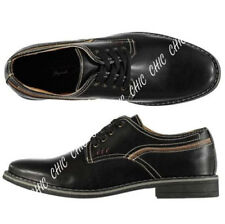 Lee Cooper Mens Soft Leather Lace Up Derby Style Porter Shoes RRP £54.99 Black