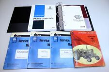 INTERNATIONAL IH 656 DIESEL TRACTOR ENGINE SERVICE OPERATORS PARTS MANUAL BOOK