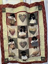 New listing African American Girl Wall Hanging Delton