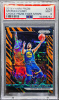Stephen Curry 2018-19 Prizm Choice Tiger Stripe Prizm PSA 9 MINT SP POP 8 🔥📈