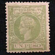 Puerto Rico SC #153 Mint H 1898