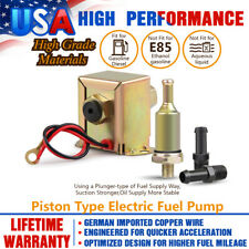 New Low Pressure Electric Micro Fuel Pump Petrol Diesel 2.5-4PSI 30GPH 12V Volt
