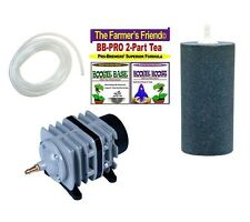 STOP SELL IN CA Boogie Brew PRO Kit / 6lbs Boogie Tea PRO - 45L Air Pump, Large
