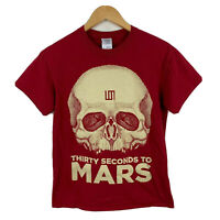 Thirty Seconds To Mars T Shirt Womens Size Small Early 2000s Short Sleeve