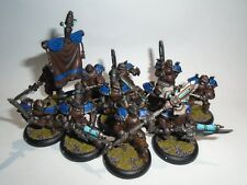 Warmachine Painted Cygnar Stormblade Infantry & Storm Gunners Plus Officer