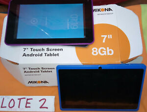 Lote 2. JOBLOT. Tablets. Varias marcas, para piezas o reparar.MIKONA