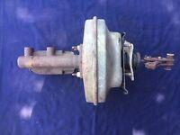 70-74 1970 1971 Power Brake Booster Master Cylinder Barracuda Cuda Challenger
