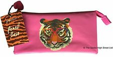 "Paperchase tiger pencil case - ""wild at heart"""
