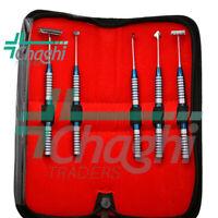 Soft Brushing 05 PCs Kit PRF Lingual Tissue Flap Surgery Dental Instruments C-T