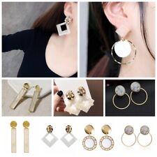 NEW Fashion Women Boho Geometric Acrylic Resin Earrings Dangle Drop Hook Jewelry