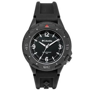 Columbia Self Select Quartz Black Dial Silicone Strap Watch CSS13-001 RRP £175