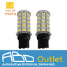 582 7440 T20 W21W LED Bulbs in 6000K for DRL Sidelights Reverse Error Free Pair