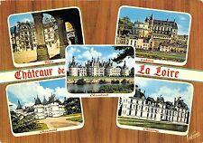 BR25366 Chateau du val de Loire multi views 2 scans France