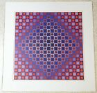Victor Vasarely Boglar Circles and Squares Print - Plate Signed