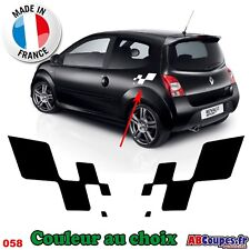 Stickers Autocollants Damier Renault Sport - Stripping Clio Megane Twingo - 058
