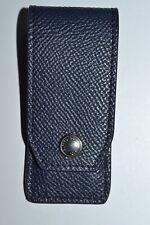 Dunhill Cadogan Navy Collar Stiffener Case Brand New RRP £175