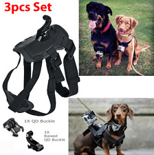 Dog Pet Harness Chest Back Mount Strap Belt For GoPro 2 3+ 4 Camera Acccessories