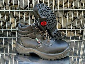 Bicap OS6406 metallfreie robuste S3 Sicherheitsschuhe Arbeitsschuhe Stiefel 40