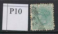 NEW ZEALAND, 1891 4d green (P10) Fine Used, SG222, cat £8