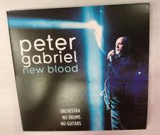 2 CD PETER GABRIEL NEW BLOOD LIVE O2 LONDON RARE 2010 NM