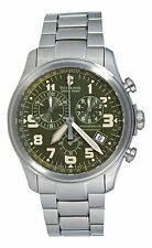 NEW VICTORINOX SWISS ARMY MEN'S INFANTRY CHRONO STAINLESS STEEL WATCH 241288
