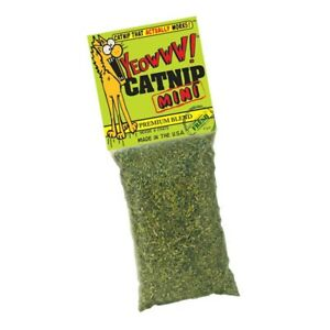 Yeowww 100% Organic Premium Blend Catnip Bags 2 Sizes Available