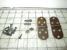 Singer Sewing Machine Cabinet Hinges Set with pins for support rest mechanism