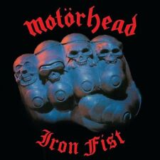 Motorhead - Iron Fist - 2015 reissue lp 180 g vinyl  - New factory sealed