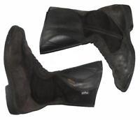 POLO Herren- Motorradstiefel / Biker- Boots in schwarz ca. Gr. 41,5