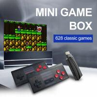 Retro TV Game Stick Mini HDMI 4K Console 628 Built-in Games 2 × Gamepad 2020 HOT