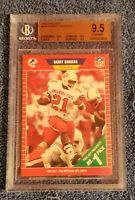 """BARRY SANDERS"" 1989 Pro Set RC #494 BGS 9.5 GEM MINT ROOKIE HOF LIONS"