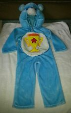 CHILDREN'S BLUE CARE BEAR FULL HALLOWEEN COSTUME SIZE 2-4 YEARS SEE MEASUREMENTS