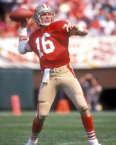 Joe Montana  - 49ers, 8x10 color photo