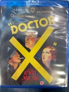 DOCTOR X (Warner Archive region free) Blu Ray