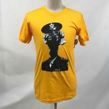 Obey Men's T-Shirt MIndblowin' Gold Size M NWT Shepard Fairey Eagle Military