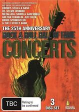 Rock And Roll Hall Of Fame Concerts (DVD, 2011, 3-Disc Set)
