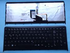 Tastatur SONY Vaio VPCF24Q1E VPCF219FC VPCF24M1E Bleuchtet Backlit Keyboard DE