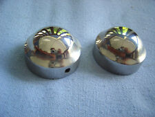 BMW /2 R26 R27 R50 R60 R69S motorcycle Stainless rear shock caps / covers