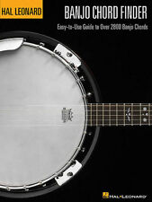 HAL LEONARD BANJO CHORD FINDER BOOK 2800 CHORDS! BRAND NEW LEARN TO PLAY BOOK