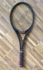 Vintage 80er Snauwaert lm-5 Fibre composite mid rod laver raqueta de tenis