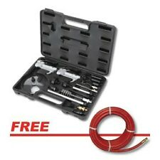 ATD 21pc Blow Gun & Accessory Tool Kit with Free Goodyear Air Hose #8721P