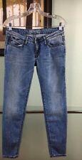 NEW Authentic Light Blue Black Wings Skinny Women Robin's Jeans Regular Size 29