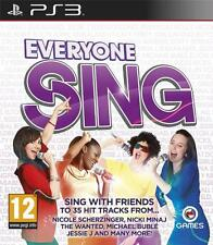 EVERYONE SING PS3 - 1st Class Delivery
