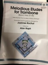 Melodious Etudes For Trombone Book:2,61-90
