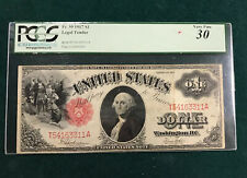 1917 $1 One Dollar Legal Tender US Note Fr. 39  (PCGS) VF-30